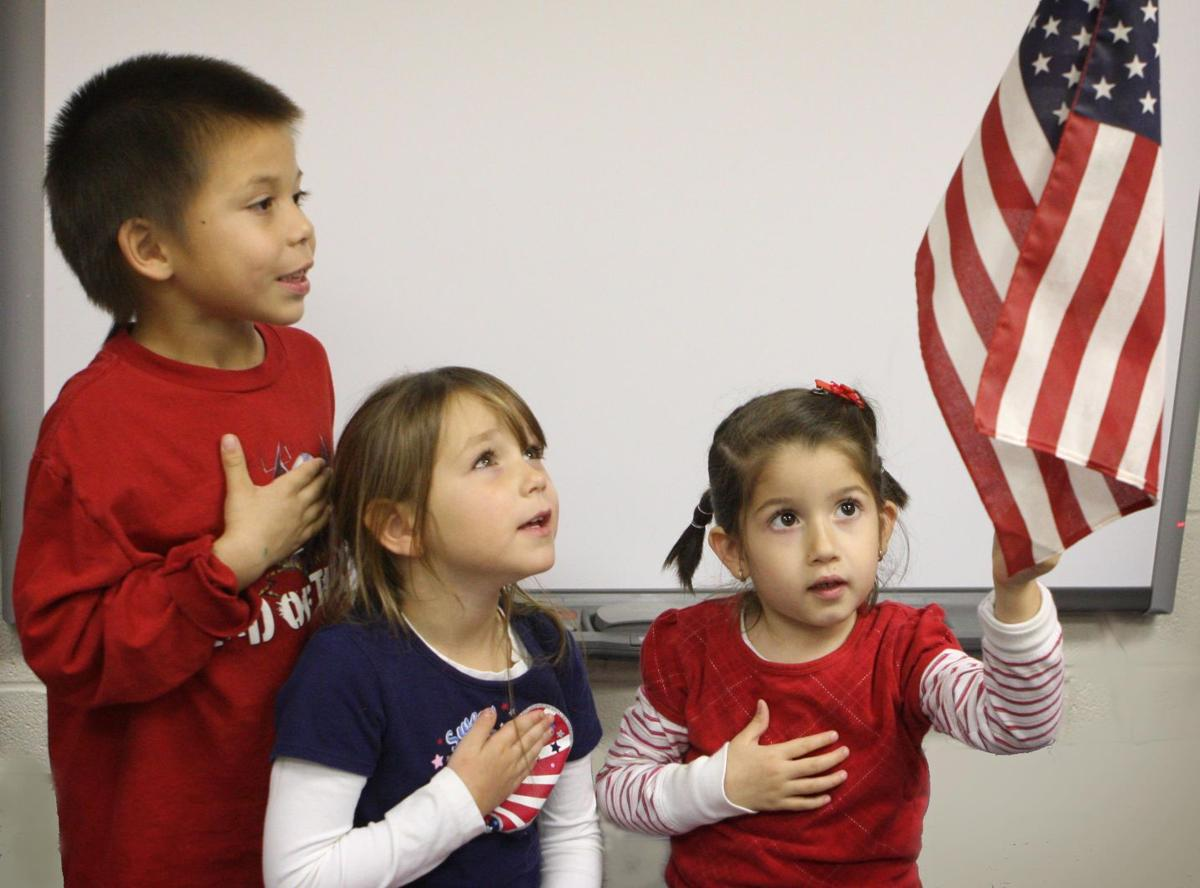 Pre-K students Malakhi Leader, Gia Bell, and Valerie Contreras.jpg