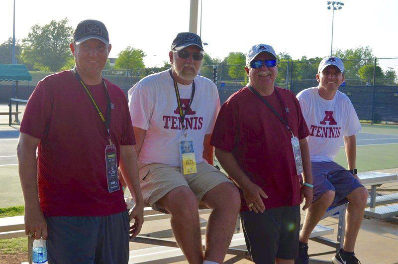 Four Ada tennis coaches