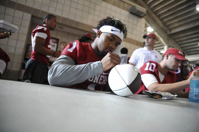 OU quarterback Kyler Murray