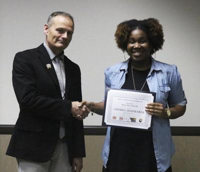 Lightbourne receives biology scholarship