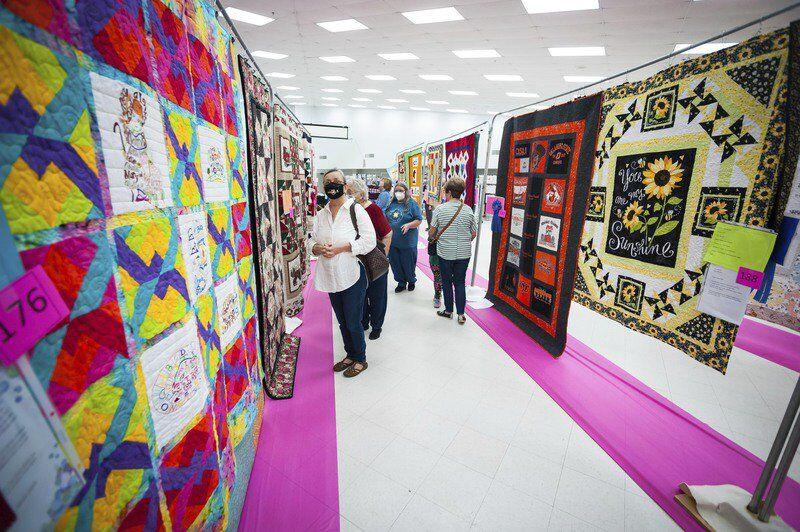 Pontotoc County Quilt Show results