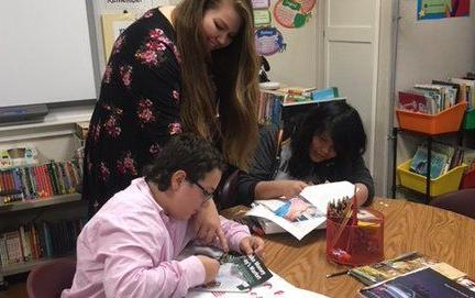 McLish Middle School students learn lessons in history, research