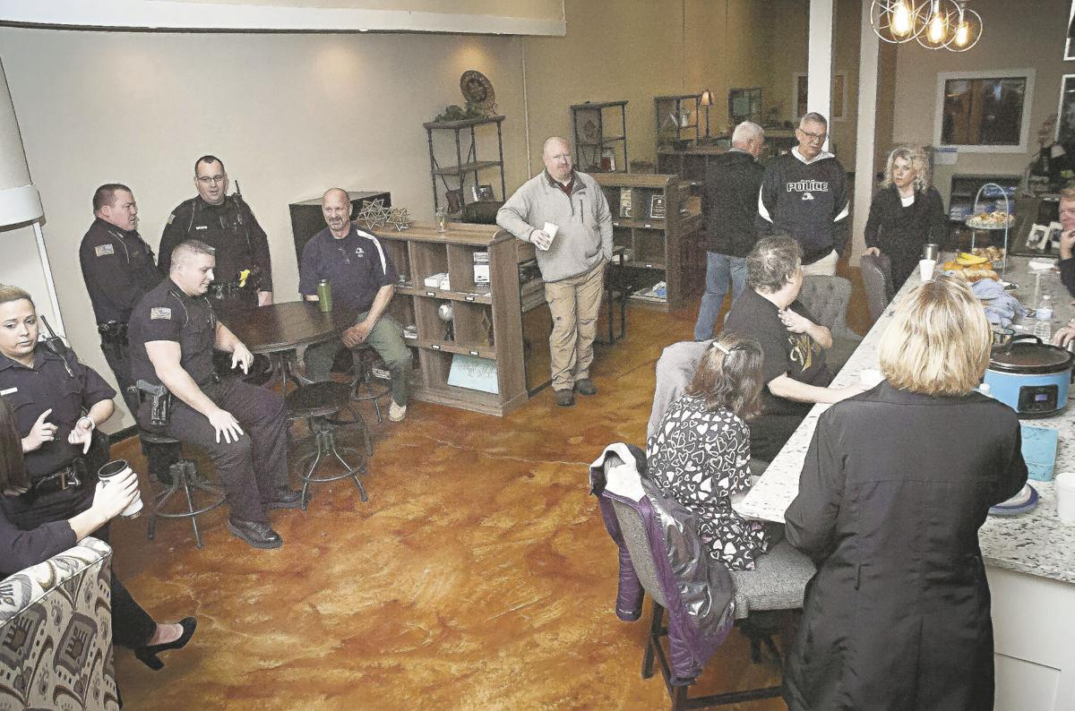 Coffee with a Cop, Gray Real Estate