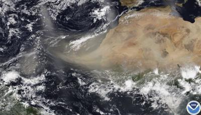 Dust and sand from Sahara Desert may reach Oklahoma