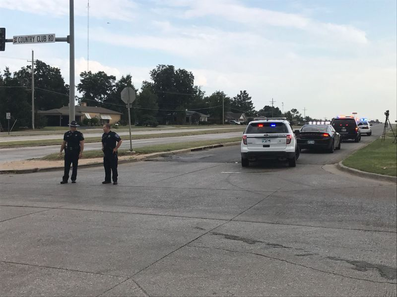 Oklahoma City police officer shoots, kills man holding stick