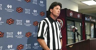 Striped Gundy talks stadium atmosphere