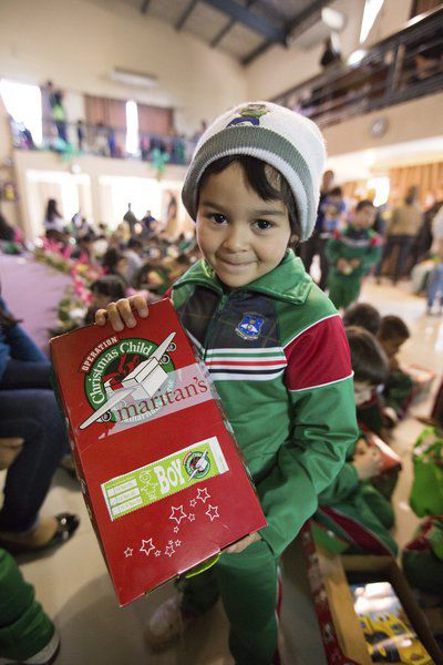 Operation Christmas Child donations accepted this week