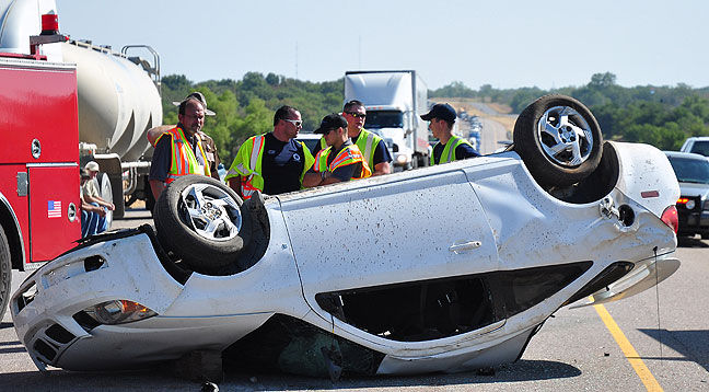 Woman dies in rollover crash near Fitzhugh Tuesday