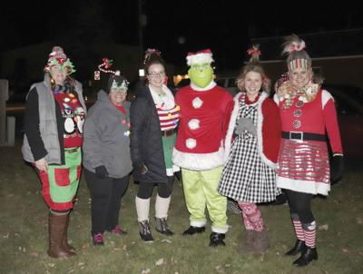 The Grinch and his Willow Ridge girls