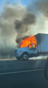 November 30th truck fire