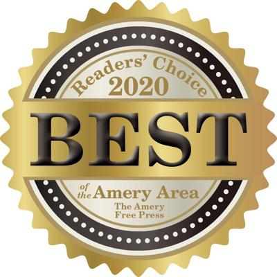 Best of the Amery Area Logo