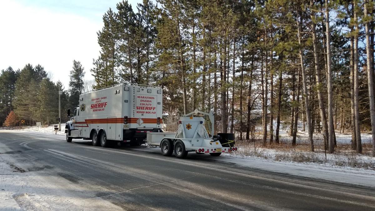 Suspected of making explosives, Polk County resident injured