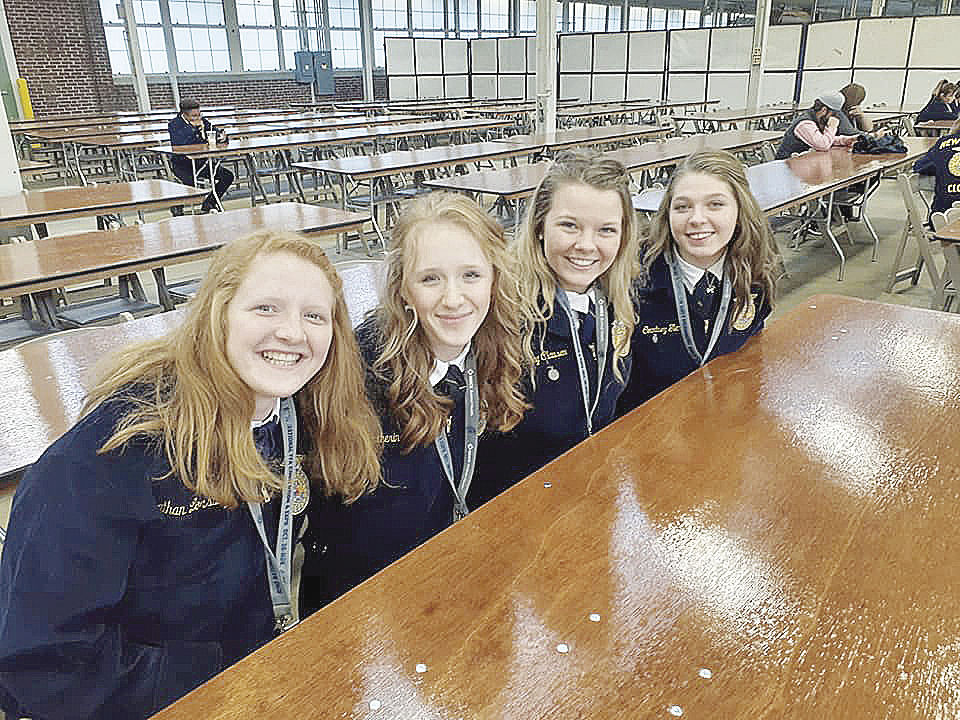 Amery FFA dairy team  set to go global