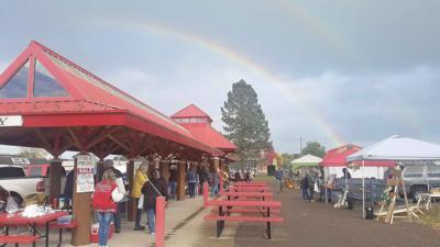 Farmers Market Rainbow