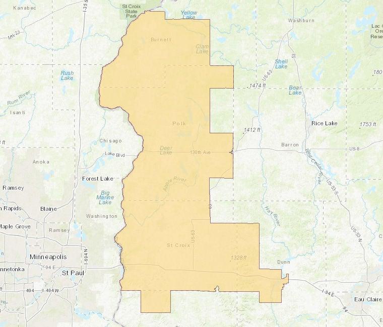 10th Senate District Map
