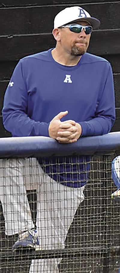 Arab baseball: Coach Chad Hudson