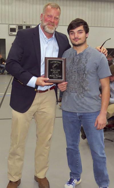 Mathew Turnage presented Bemon Lyon Award