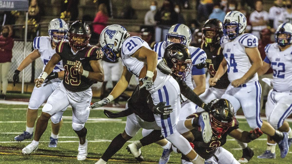 Knights fall in playoff game