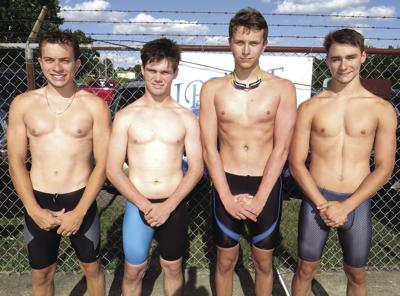 Boys relay team sets Riptide record