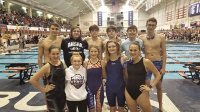 Arab swimmers at state meet