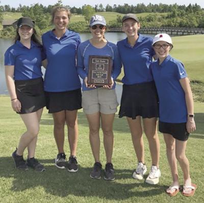 Arab girls golf team to compete at state Monday and Tuesday