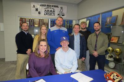 Arab's Will Hudson signs with UNA