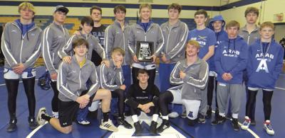 Knights advance to state duals tournament