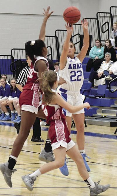 Arab girls defeat Guntersville