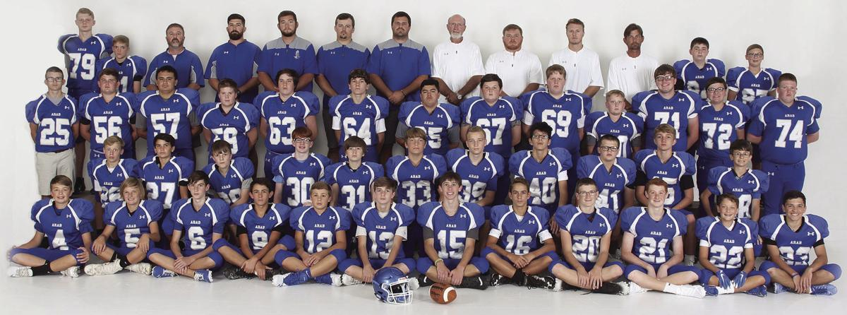 Arab 8th grade football team