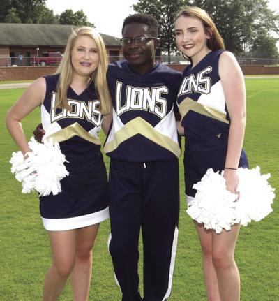 Lions cheerleaders ready for the season