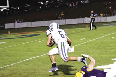 Turnage scores 3 TDs but Knights lose