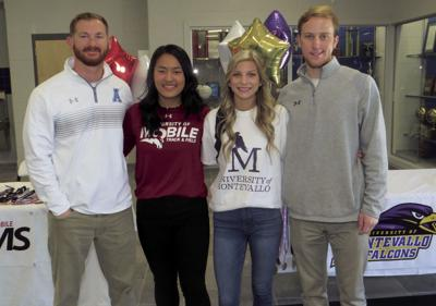 Arab track standouts sign college scholarships