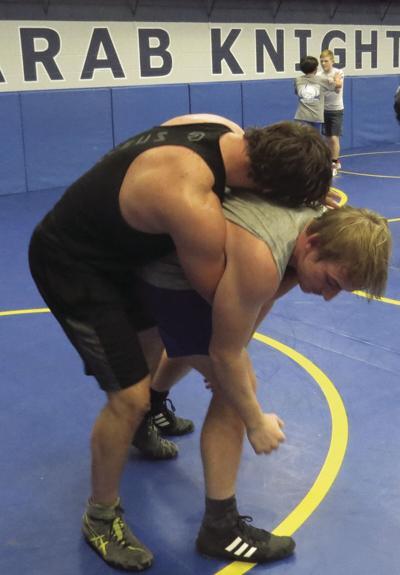 Arab wrestling