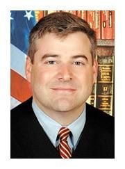 Burke is appointed by Gov. to state court