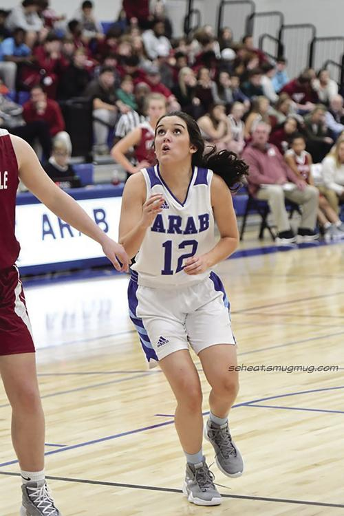 Arab Basketball Knights Lady Knights Secure Area Wins Against