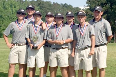 Thornton ties for low medalist honors at state, leads PCHS golf to second place finish 5-25-16