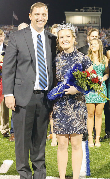 Griffin named homecoming queen