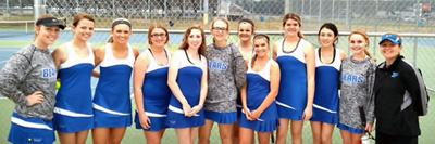 Lady Bear beat Toombs, Islands in tennis action 3-9-16