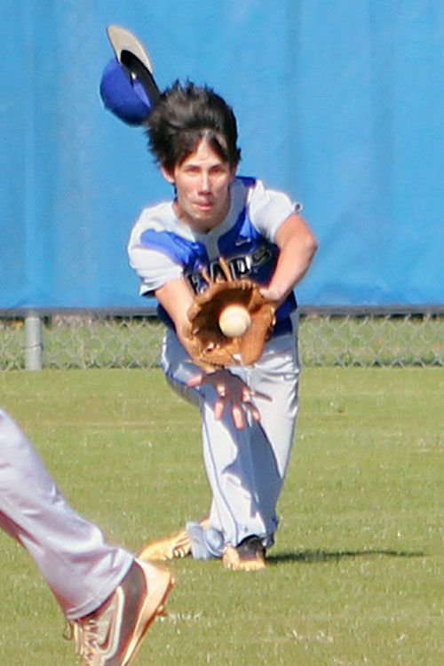 PCMS baseball championship hopes survive with win over Brantley County #2 3-30-16