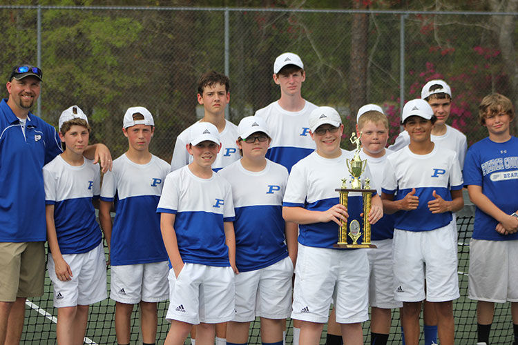PCMS tennis squads finish second in finals 3-23-16 boys