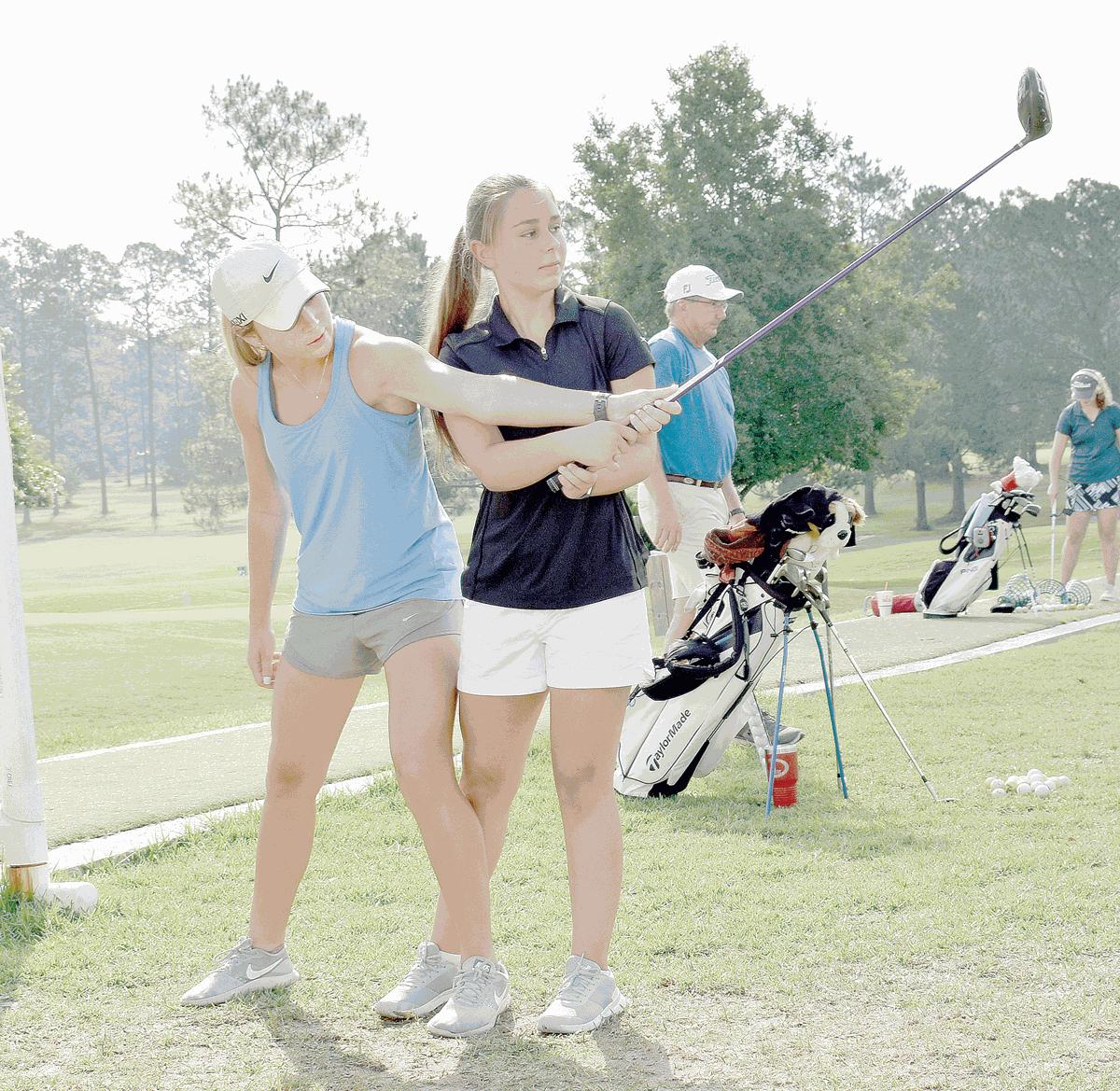 Buie golfers