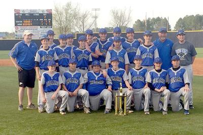 PCMS baseball wins conference championship 4-6-16