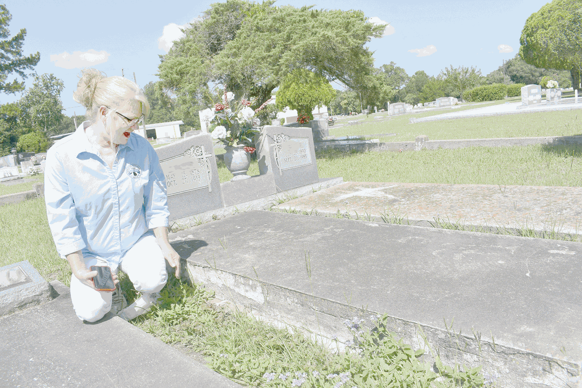 cemetery mapping project