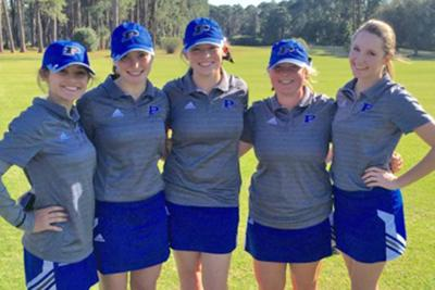 Lady Bears golf opens season with two wins on the green 3-9-16