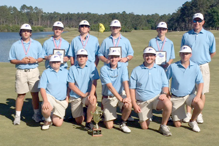 PCHS boys and girls golfers capture Region 1-AAA titles - boys 4-20-16