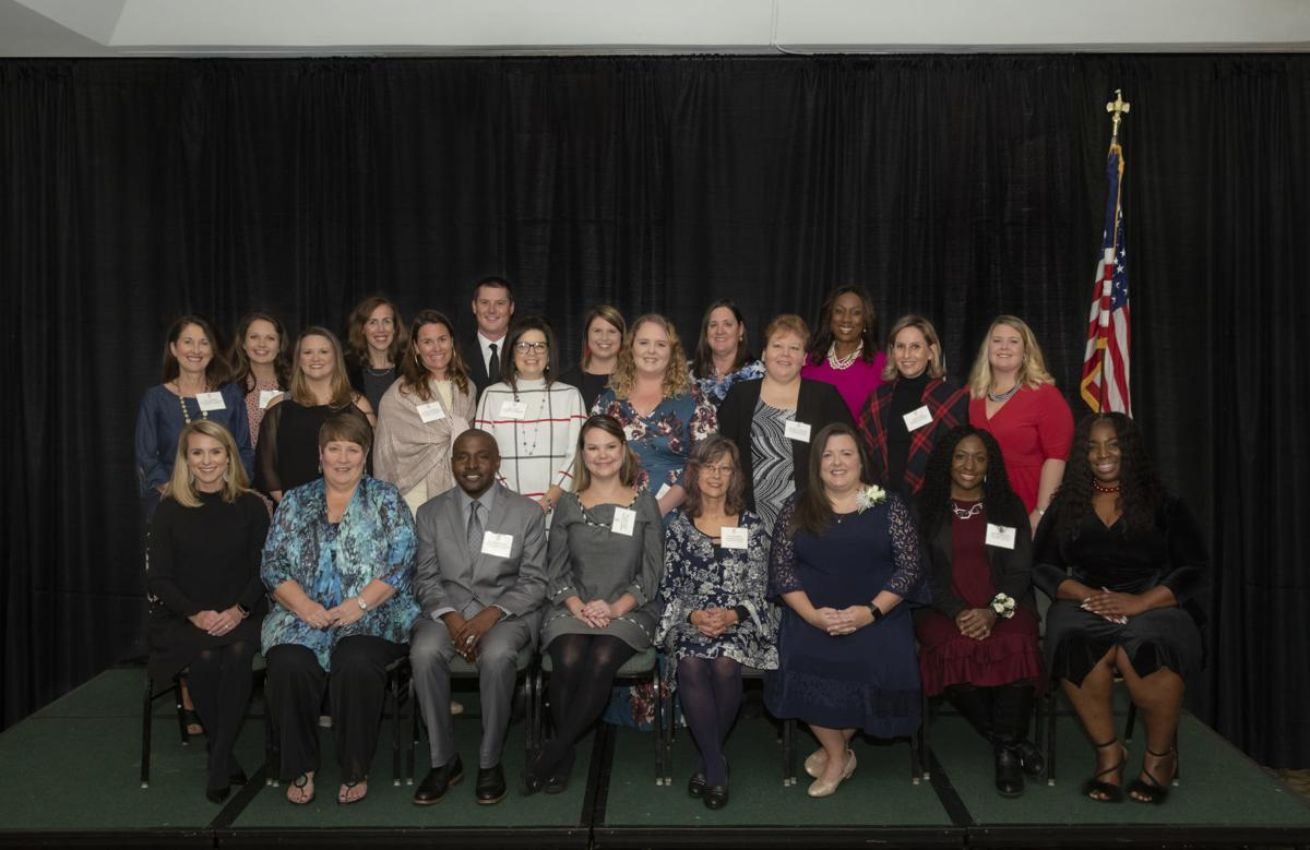 Teachers of the Year group
