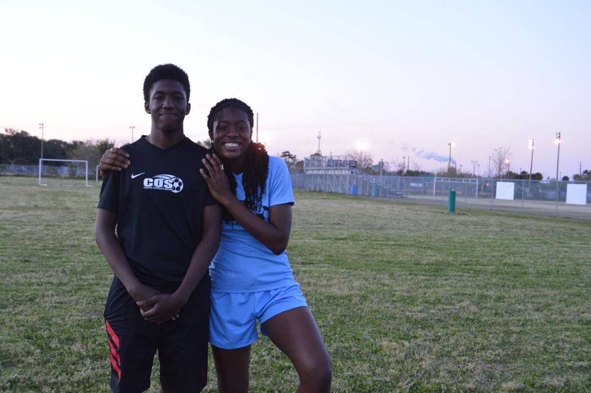 Coastal Outreach Soccer players