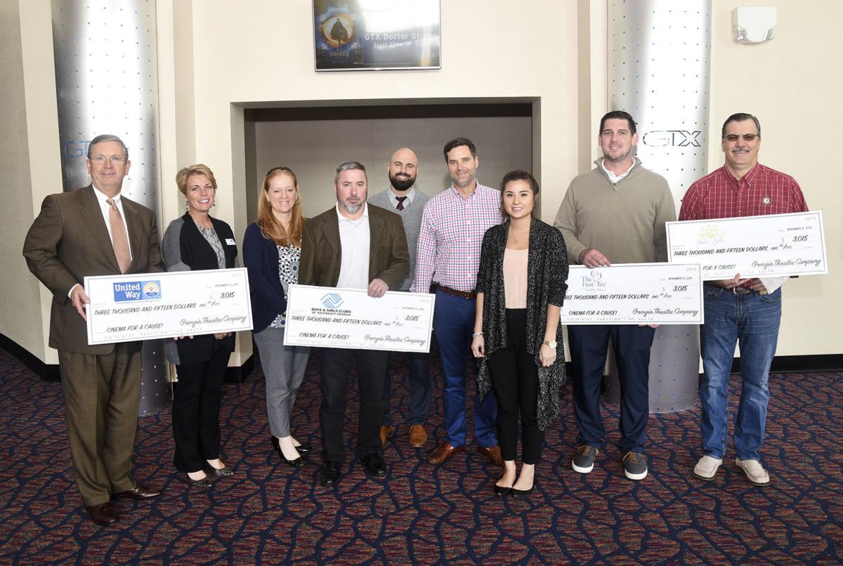 Georgia Theatre Company Donates To Local Charities Local News