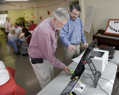 voting machine demo