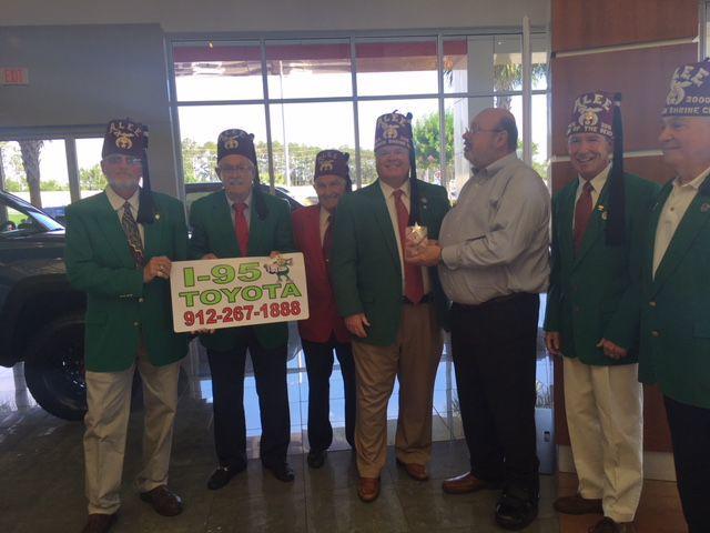 Brunswick Shrine Club Honors I 95 Toyota